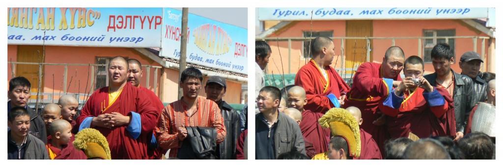 Buddhist Monks at Gandan Khiid Ulaanbaatar