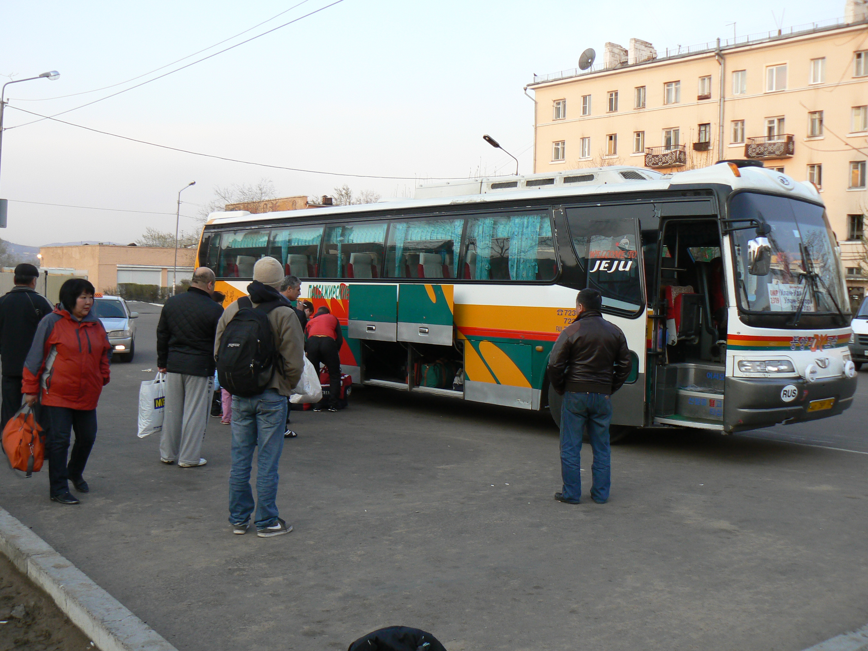 Bus Trip From Ulan Ude To Ulaanbaatar Moscow To Beijing
