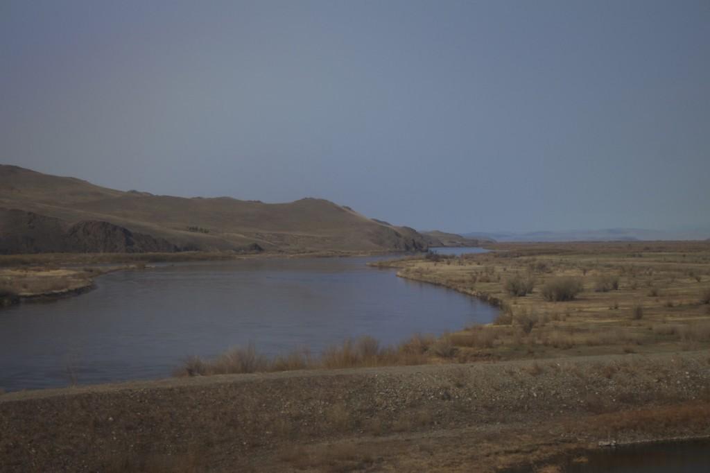 Selenga River near Novoselenginsk