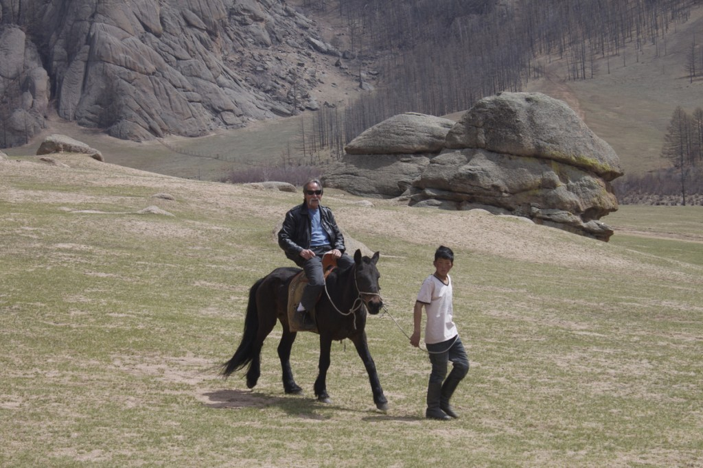 Gorkhi Terelj Horse Riding