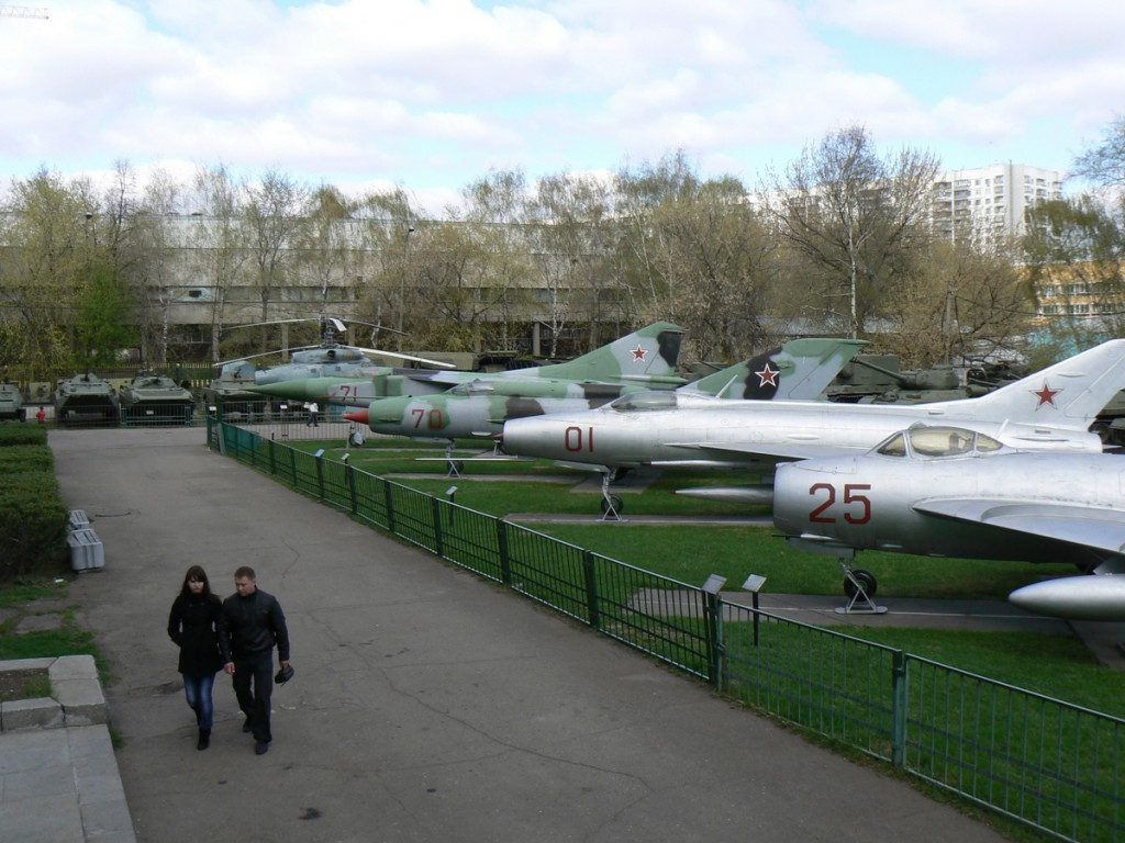 Migs at Armed Forces Museum