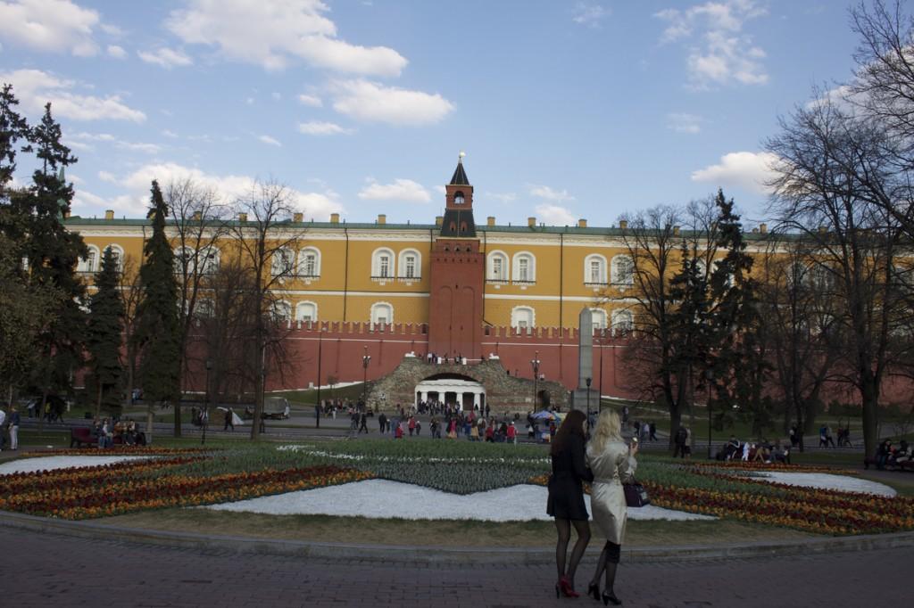 Moscow Alexander Gardens