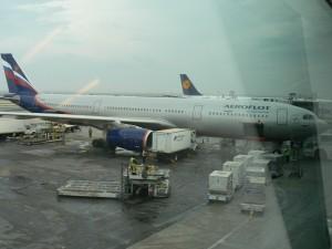 JFK Airport Aeroflot