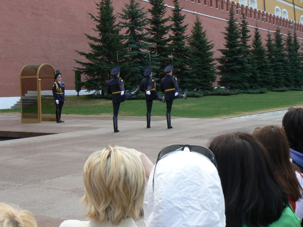 Tomb of the Unknown Soldier at the Kremlin