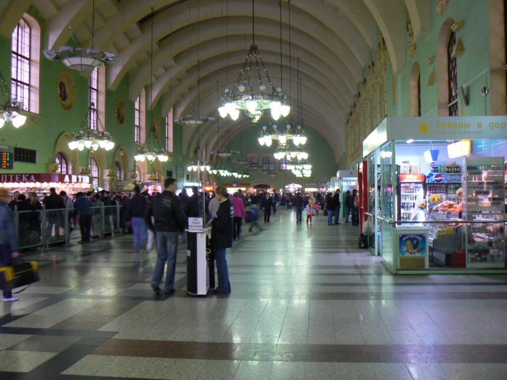 Moscow Kazansky Train Station