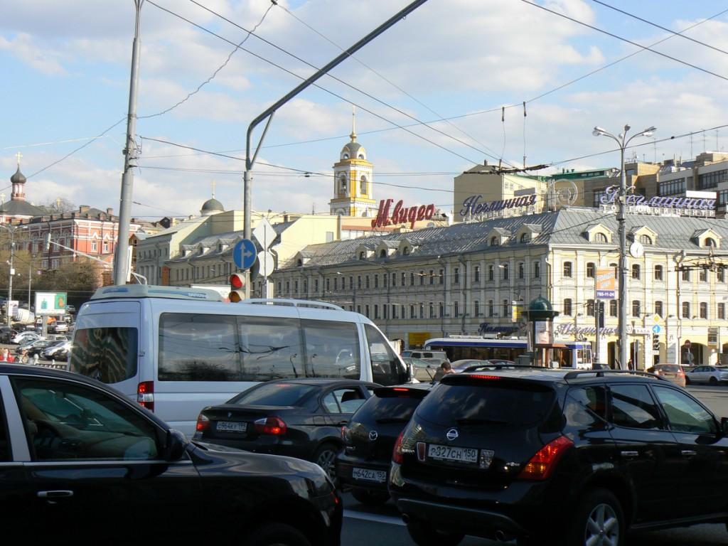 Moscow Tsvetnoy Bulvar