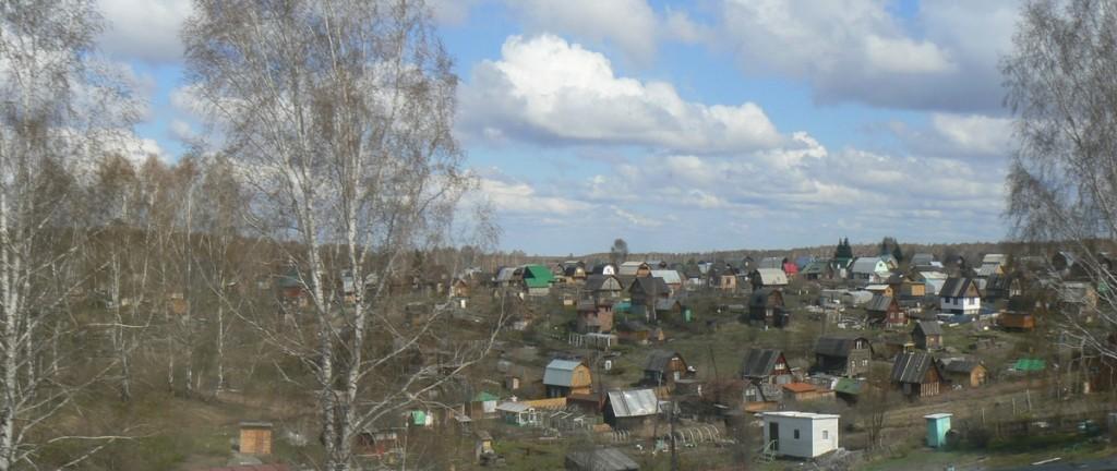 Siberian Village bus to Tomsk