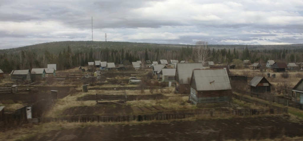 Trans-Siberian Train Tayga Tayshet Irkutsk