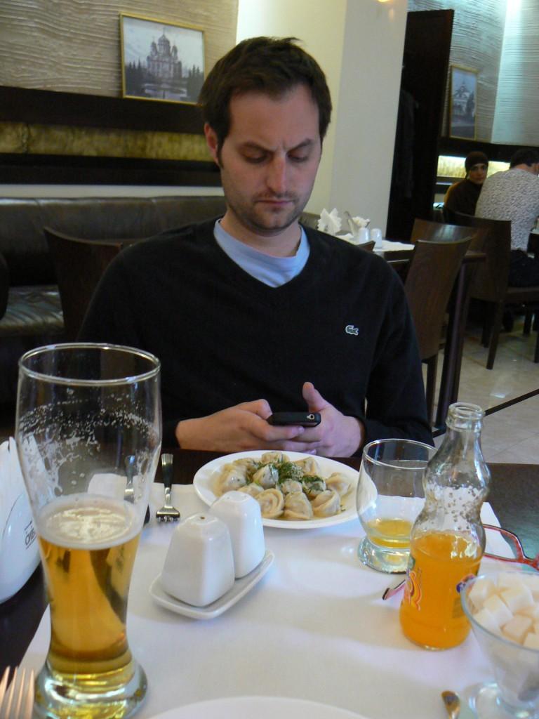 Food at Tomsk Sibir Forum hotel