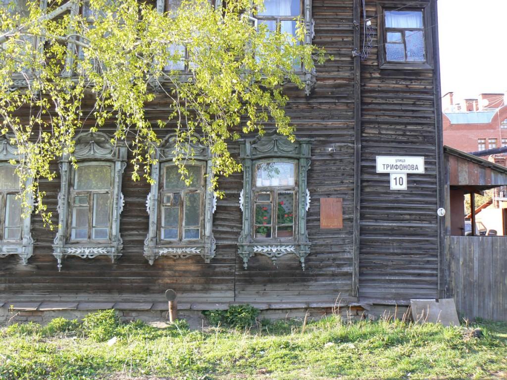 Tomsk ul Tatarskaya wood lace