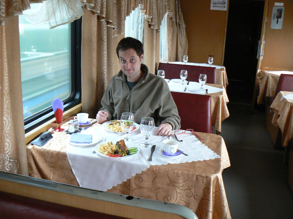 Trans-Siberian Train Dining Car
