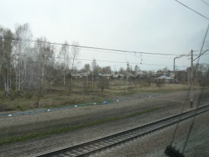 Trans-Siberian Train Tomsk to Tayga