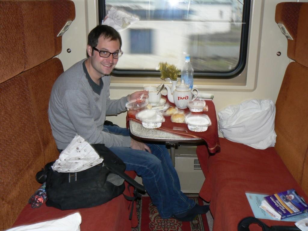 Trans-Siberian Train Borscht Soup