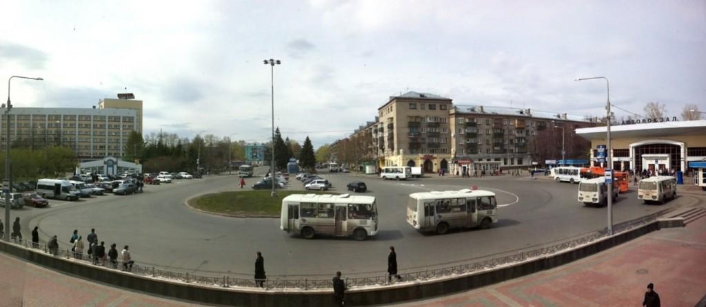 Tomsk train station