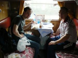 Trans-Siberian Train Tayga to Irkutsk