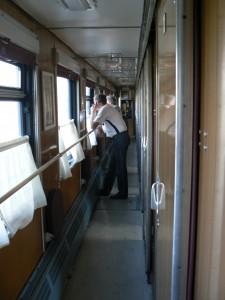 Trans-siberian train cell phone