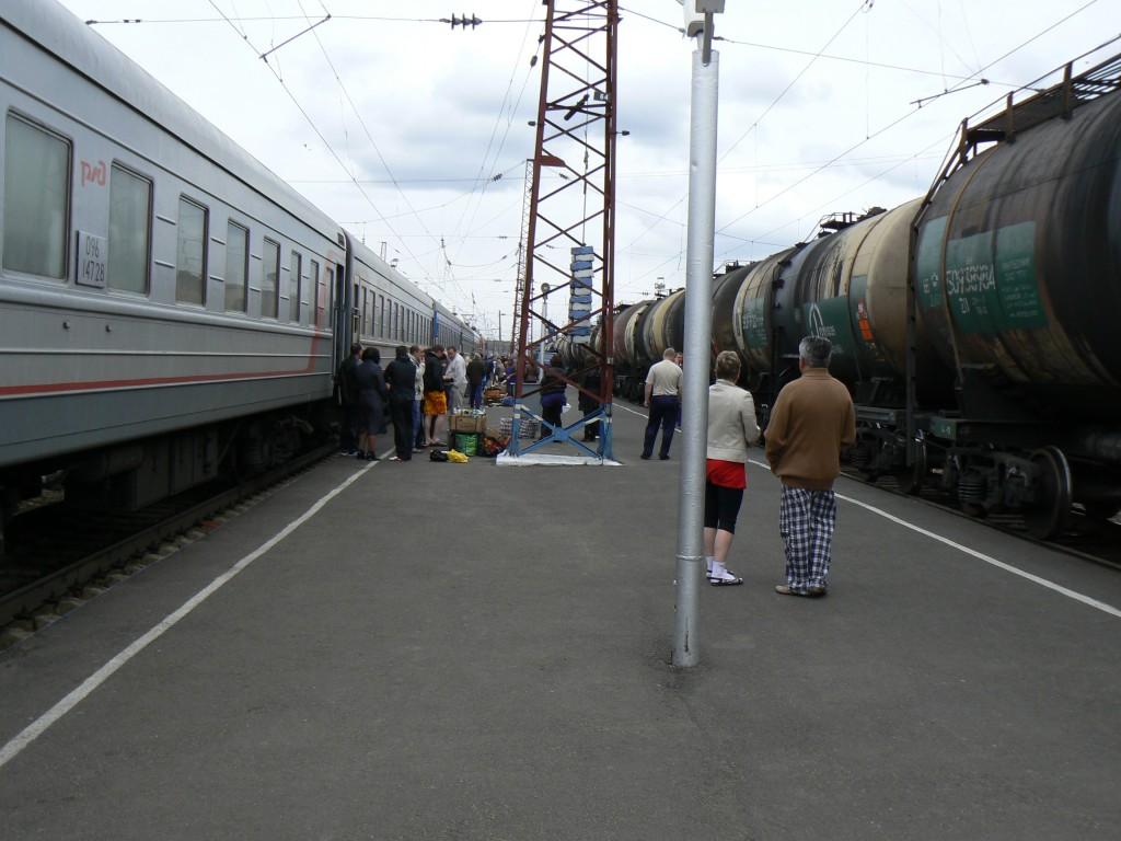 Trans-Siberian Train Illanskaya