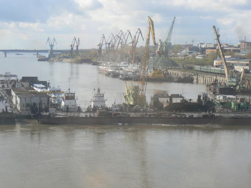 NovoSibirsk by Ob River