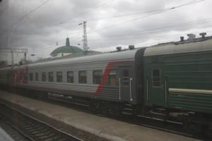 Trans-Siberian Train Tayshet