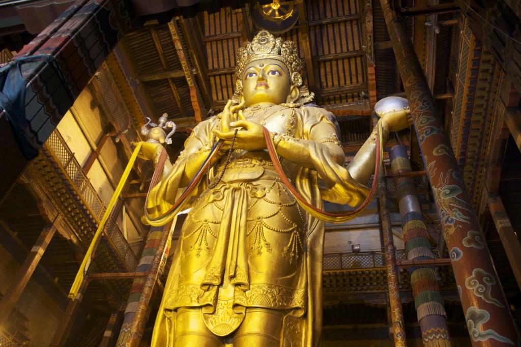 Gandan Khiid Buddha of Longevity