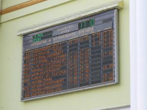 Yekaterinburg Train Station schedule