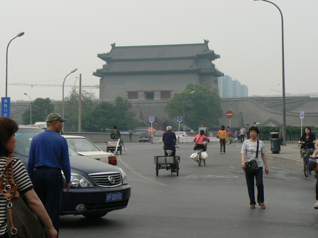 The old West gate of Beijing