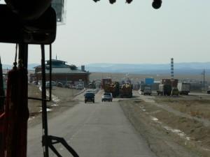 Russian Border Control Mongolia