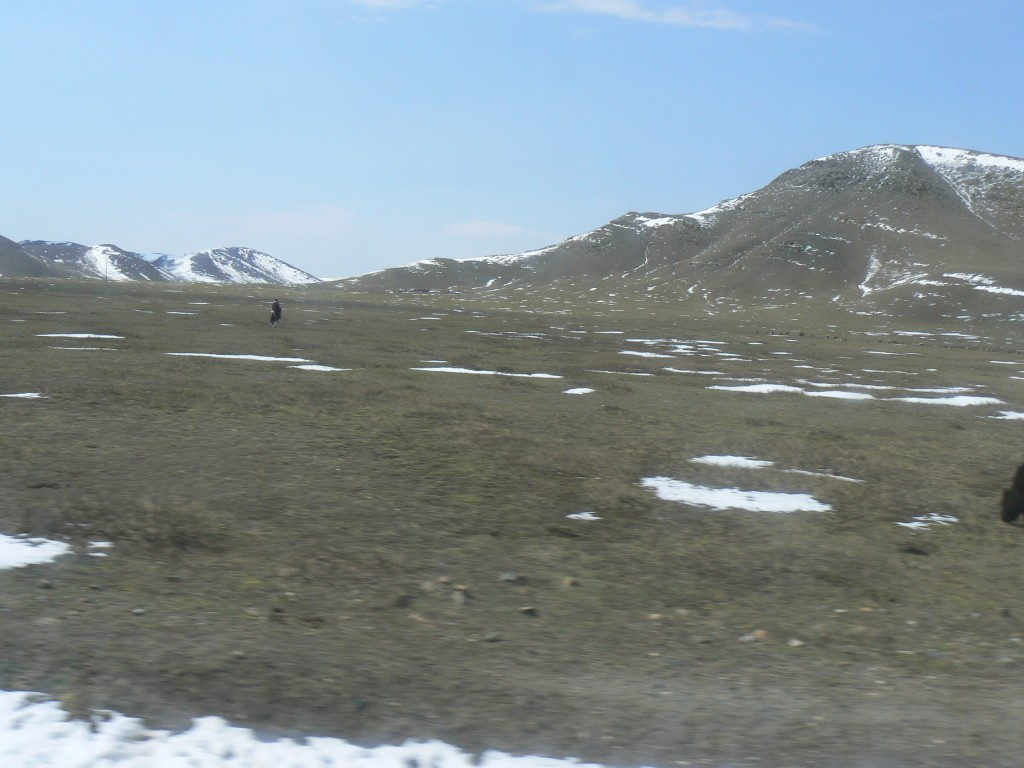 Mongolia bus trip