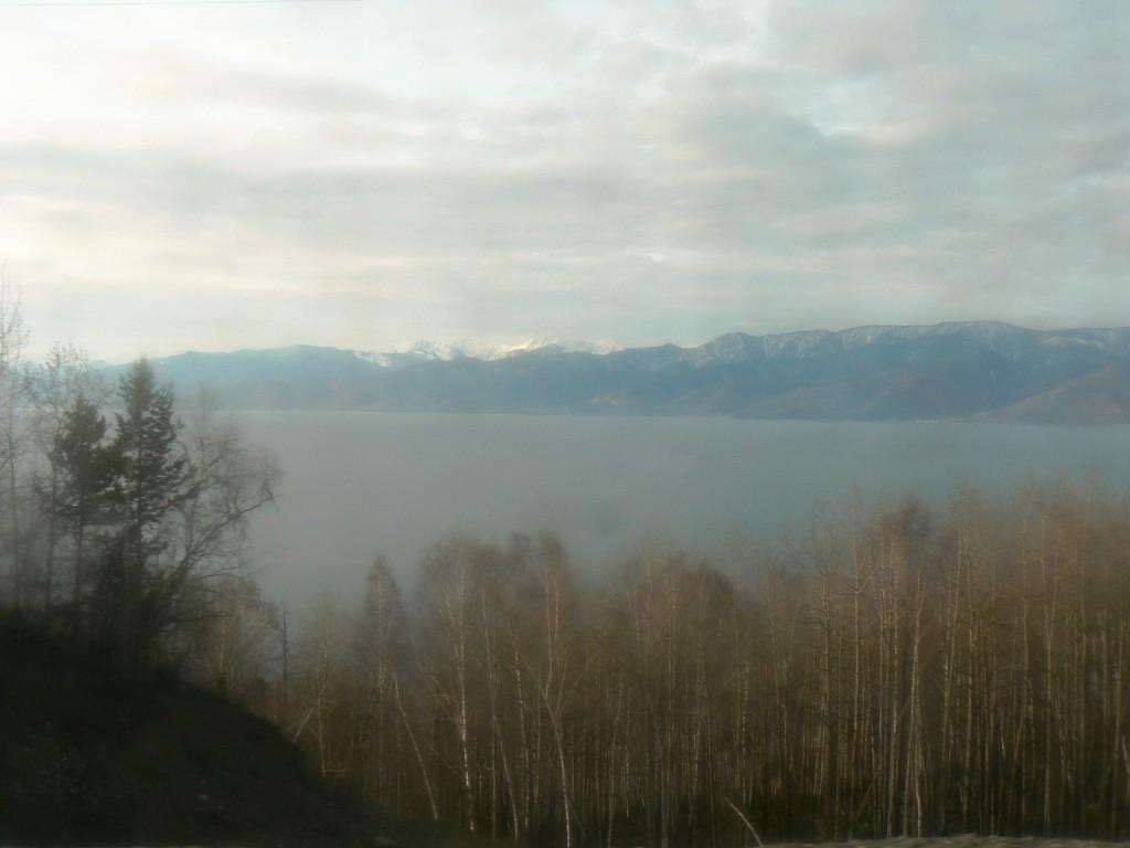 Lake Baikal and Sayan Mountains