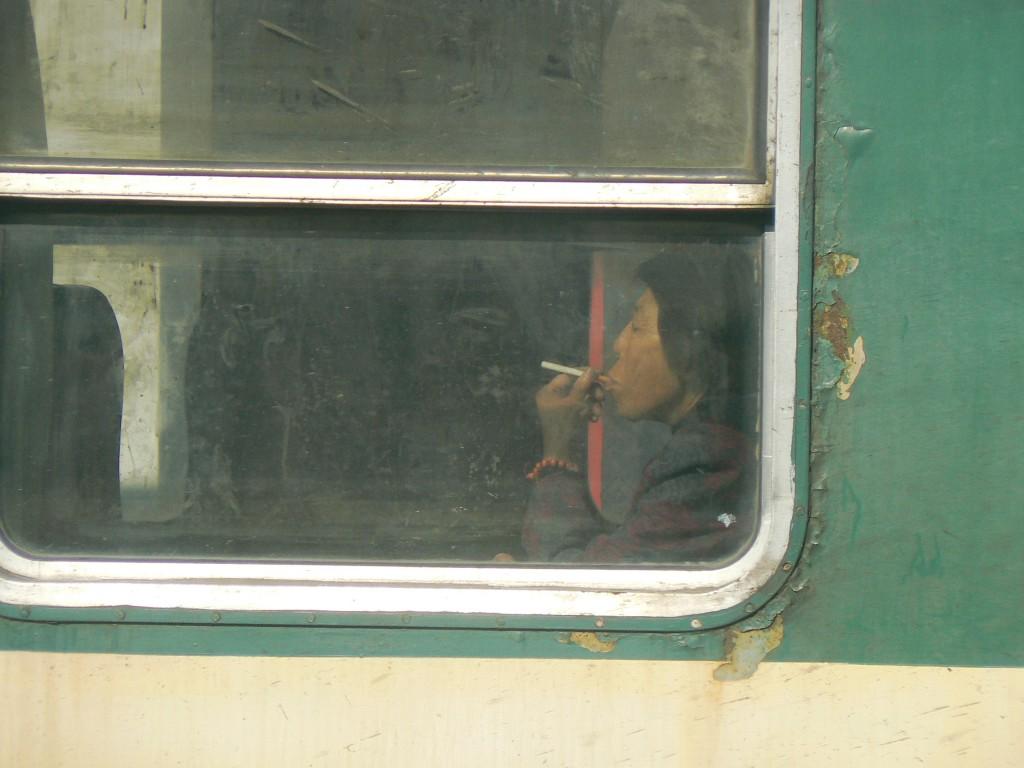 Trans-siberian train Datong