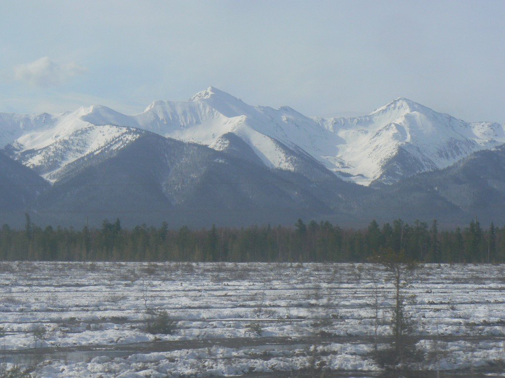 Siberia Sayan Mountains