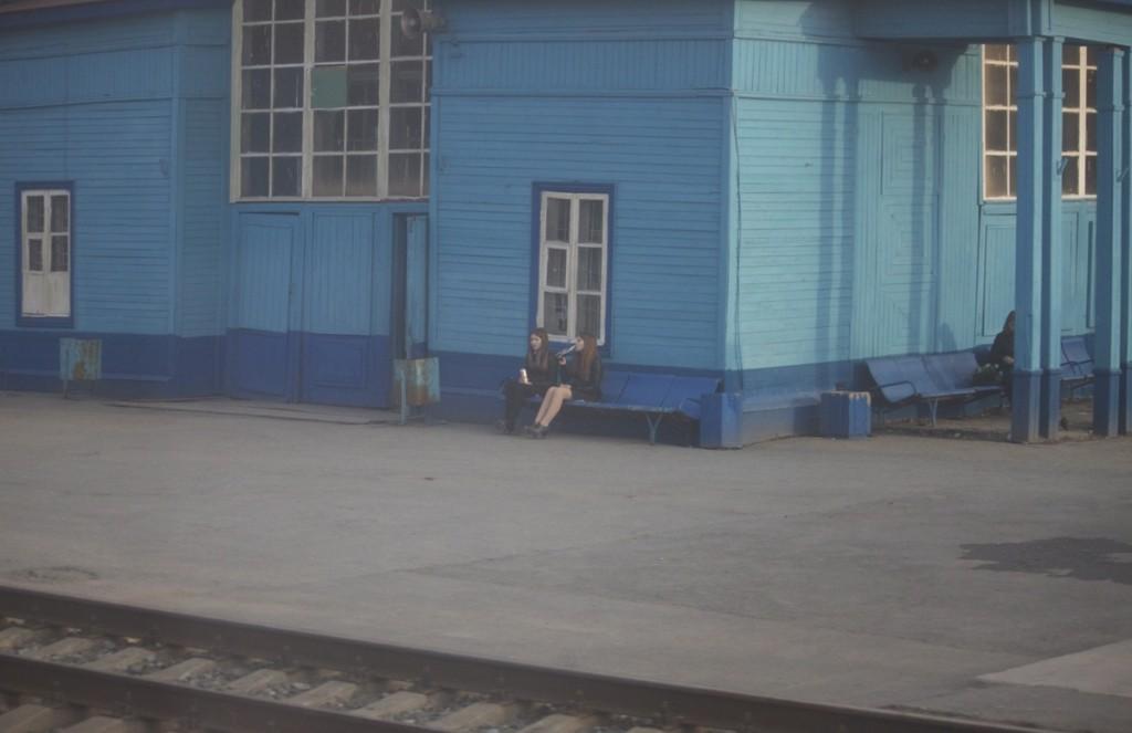 Train station near ekaterinburg