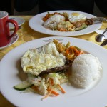 Trans-Mongolian train Dining Car food